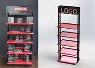 5 Shelves Heavy Duty Display Stand Auto Parts Display Racks For / POP Oil Bottles